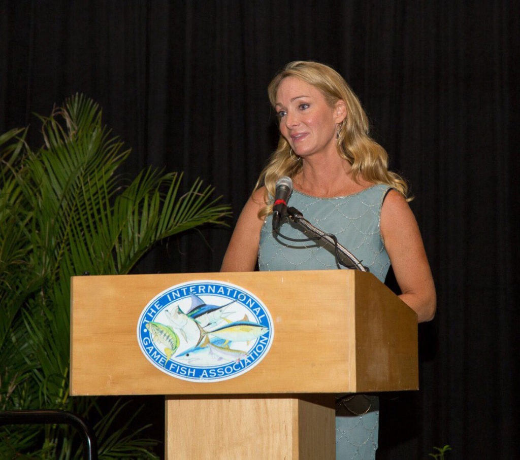meredith-IGFA-speaking